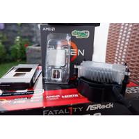 AMD Ryzen 3 1300x + Asrock AB350 Fatality Gaming
