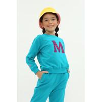 """M"" Zebra Flocking Sweater"