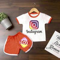 Baju Setelan Anak Laki Laki Perempuan Usia 1-6 Tahun Gambar INDOMIE