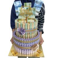 Money cake asli kue uang money bouquet