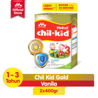 Morinaga Chil Kid Gold Vanilla 800gr - Susu Pertumbuhan Anak Batita
