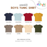 Ardenleon Boys Tunic Shirt Arden Leon Baju Atasan Anak Laki-laki