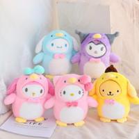Balmut Bantal / Boneka Selimut Sanrio Melody Hellokitty Purin Kuromi