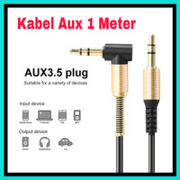 kabel AUX Audio jack 3.5mm Male to Male HiFi Model L AC 5