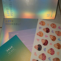 BTS Love Yourself Answer ver F unsealed + poster + freebies