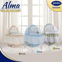Pliko Bassinet Oval 608 / Box Bayi / Tempat Tidur Bayi / Ayunan Bayi