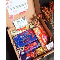 hampers coklat/ gift box / hampers lebaran /coklat box/ parsel lebaran