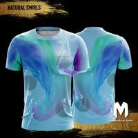 Mekanuma Sport Tee - Natural Swirls