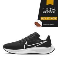 Sepatu Running Original Nike Air Zoom Pegasus 38 - Black/White