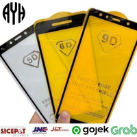 AYH Tempered Glass 5D Vivo Y91 / Y91C / Y95 Full Cover Anti Gores Kaca