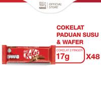 NESTLE KITKAT Coklat Wafer 2F 17g x 48pcs