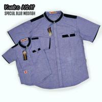 Premium Baju Koko Kemko Athif Couple Ayah dan Anak