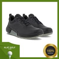 Ecco Biom Hybrid 4 Men Black Golf Shoes Pria Sepatu Original Outdoor
