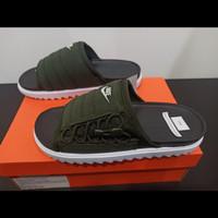Nike Asuna Slide Sequoia White Black Sandal