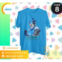 Kaos Anak Ultraman 8 RB Blu Air Nama
