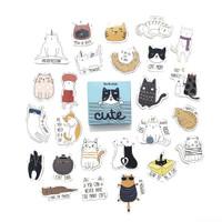 Stiker Journal Cute Cat untuk Notebook, Planner by bukuqu