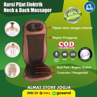 Kursi Pijit Pijat Punggung Kneading Listrik Pemijat Shiatsu Premium
