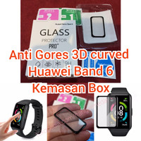 Anti Gores Huawei Honor Band 6 Pelindung Layar 3d Curved Hydrogel