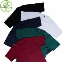 Kaos Polos Cotton Bamboo 24s Anti Bakteri Katun Bambu Premium 24S