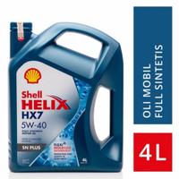 Oli Mesin Shell Helix HX7 5W-40 4Liter Galon ORIGINAL