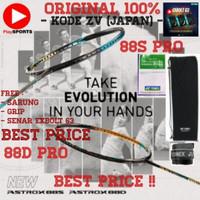 PAKET RAKET BADMINTON YONEX ASTROX 88D PRO / 88S PRO JP CODE JAPAN ORI