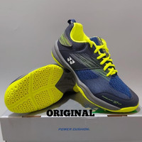 Sepatu Badminton Yonex SHB 37 WIDE EX Navy Yellow Original BNIB