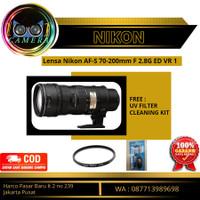 Lensa Kamera DSLR Nikon Nikkor AF-S 70-300mm F4.5-5.6G ED VR