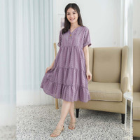 Valen Dress Beatrice Clothing - Midi Dress Wanita