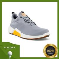 Ecco Biom Hybrid 4 Silver Grey Men Golf Sepatu Pria Outdoor Original