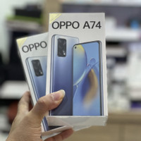 OPPO A74 6/128 GB Garansi Resmi Indonesia