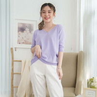 Vanya Knit Blouse Beatrice Clothing - Atasan Knit Wanita