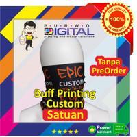 Custom Bandana / Buff Multifungsi Satuan Fullprint