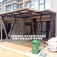 kanopi baja ringan alderon double layer twinwall