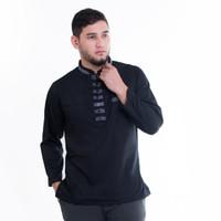Baju Koko Pria Akhtar Premium Bahan Cotton Keren Nyaman Dipakai