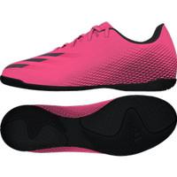Sepatu Futsal Adidas X Ghosted.4 IN - Pink Black FW6905 Original