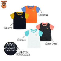 MacBear Baju Anak Laki-laki Kaos Animal Collection Bat Back Print