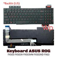 Keyboard laptop Asus ROG FX503 FX503V FX503VM FX503VD FX63