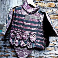 OTV vest Acupat 2nd eks US Army kondisi 65℅ size Medium