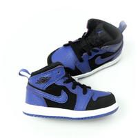 Sepatu NIKE Air Jordan 1 Mid Toddler Royal Blue - Black Concord