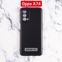 Case Oppo A74 4G Softcase Slim Matte Pelindung Kamera