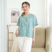 Val Blouse Beatrice Clothing - Blouse Wanita - Tosca