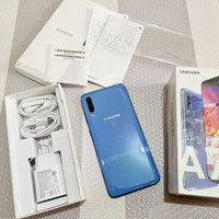 Samsung Galaxy A70 128GB Ram 6GB Fullset Garansi SEIN Mulus