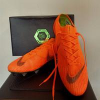 sepatu bola nike mercurial Vapor VI Elite Anti Clog SG orange