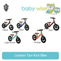 London Taxi Kick Bike Balance Bike Sepeda Anak