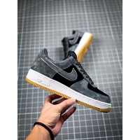 Sepatu Nike Air Force 1 Suede Gray Guarantee Store - Abu-abu, 40