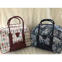 TRAVEL BAG KANVAS BESAR Tas Traveling Travel Bag Kanvas Motif uk Besar