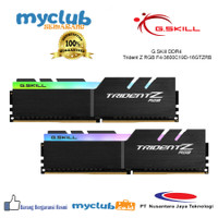 Ram Gskill TridentZ RGB DDR4 3600Mhz (2X8GB) -F4-3600C19D-16GTZRB