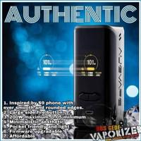 Authentic Vx200 Tc Box Mod By Augvape Vx 200 W Kit Vape Vapor Black