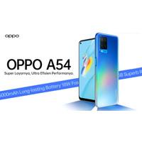OPPO A54 RAM 4GB ROM 128 GB GARANSI RESMI NASIONAL
