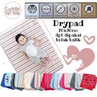 dry pad cuddle me perlak bayi multiguna 70x 100cm